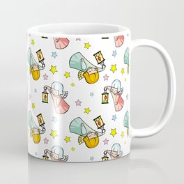 Pattern with little angels  Coffee Mug