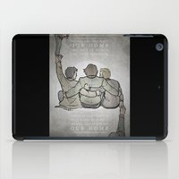 crowley iPad Cases featuring [ Supernatural ] Castiel Dean Sam Winchester Crowley Hannah by Vyles