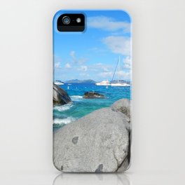 Caribbean at Virgin Gorda iPhone Case