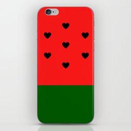Watermelon Love iPhone Skin