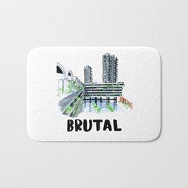 Brutal Barbican View Bath Mat