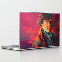 study Laptop & iPad Skins featuring A Study in Pink by Alice X. Zhang