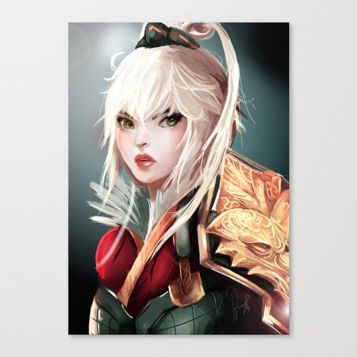 Dragonblade Riven Canvas Print