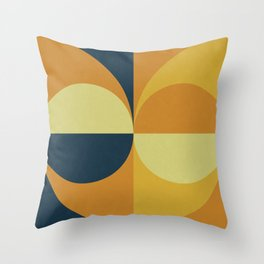 Geometry Games Throw Pillow