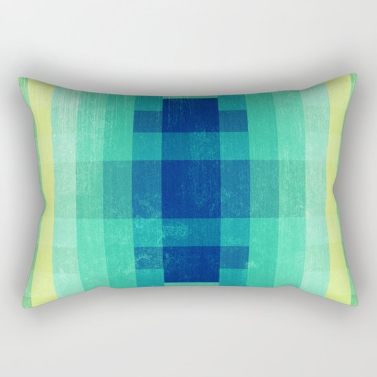 Almost Spring Abstract  Rectangular Pillow