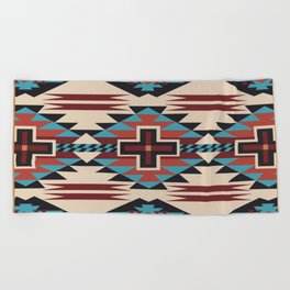American Native Pattern No. 67 Beach Towel