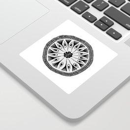 Drum Circle Sticker