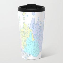 Melting Brain Travel Mug