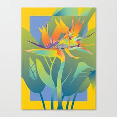 Yellow Paradise Canvas Print