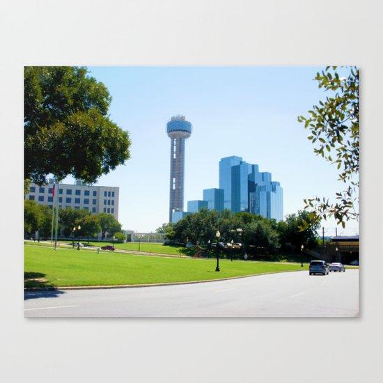 Reunion Tower, Dallas Canvas Print