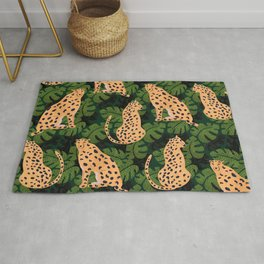 Cheetah Pattern Rug