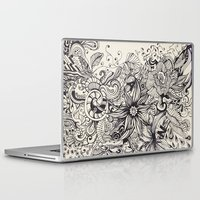 doodle Laptop & iPad Skins featuring Doodle by Antria Sofroniou