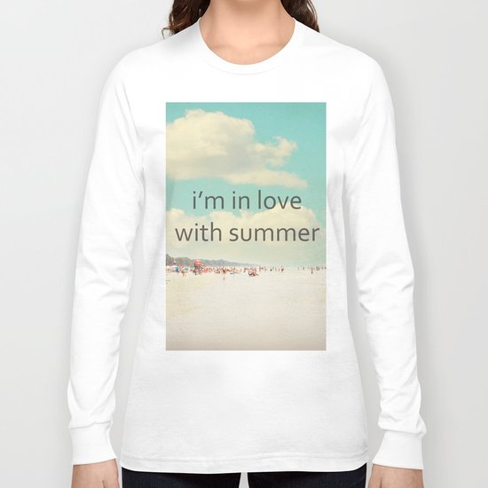 i'm in love with summer Long Sleeve T-shirt