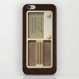 Vintage Sounds iPhone Skin