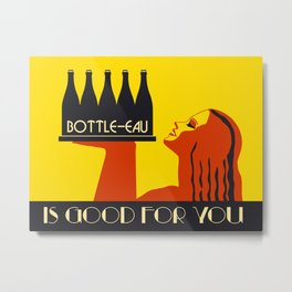 Bottle-eau Metal Print