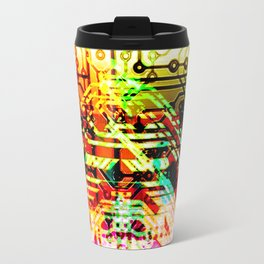 Color circuit Travel Mug
