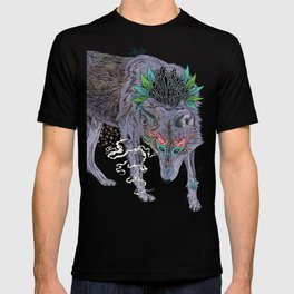 Journeying Spirit (wolf) T-shirt