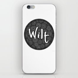 Wilt iPhone Skin