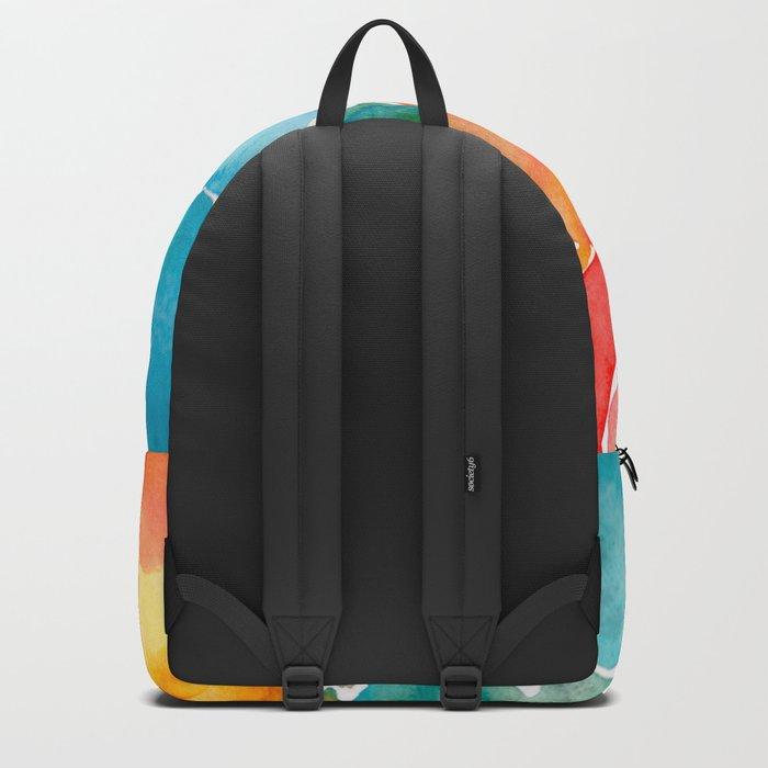 Rainbow glass Backpack