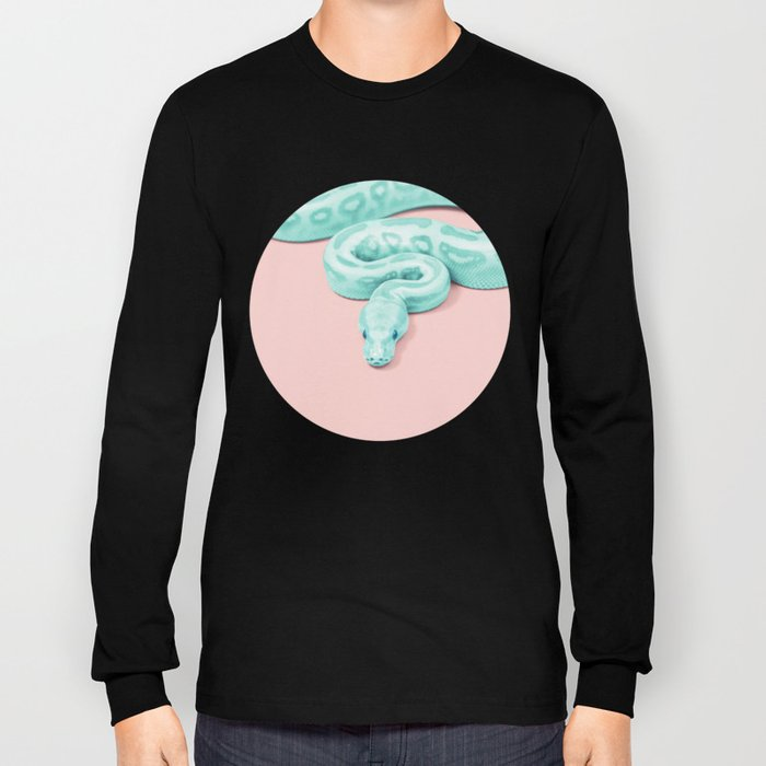 GREEN SNAKE Long Sleeve T-shirt
