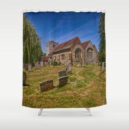 St Mary The Virgin Ringmer Shower Curtain
