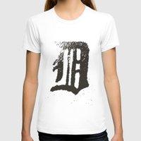 detroit T-shirts featuring Detroit by Landon Sheely
