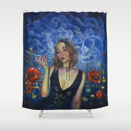 Opium Shower Curtain