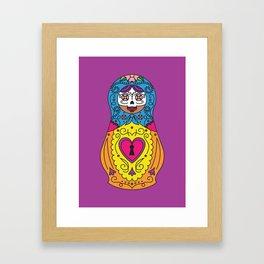 Sugar Matrioshkas #2 Framed Art Print