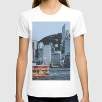 hong kong T-shirts featuring Star Ferry Hong Kong by Phil Smyth