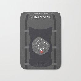 No605 My Citizen Kane minimal movie poster Bath Mat