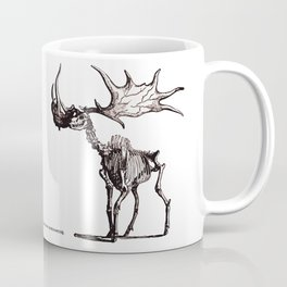 Irish Elk Skeleton Coffee Mug