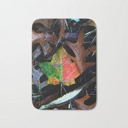 Gradient Autumn Leaf Bath Mat