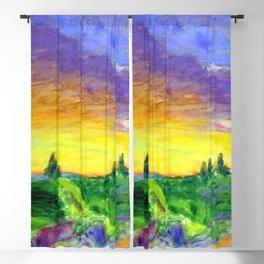 Pierre Bonnard Landscape with Sunset Blackout Curtain