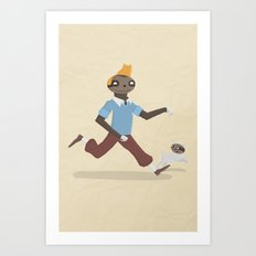 SlothTin Art Print