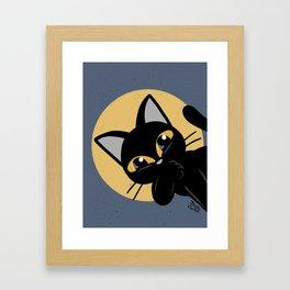 Hello everybody Framed Art Print