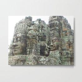 Angkor Thom Metal Print