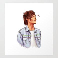 Big Weekend Louis Art Print