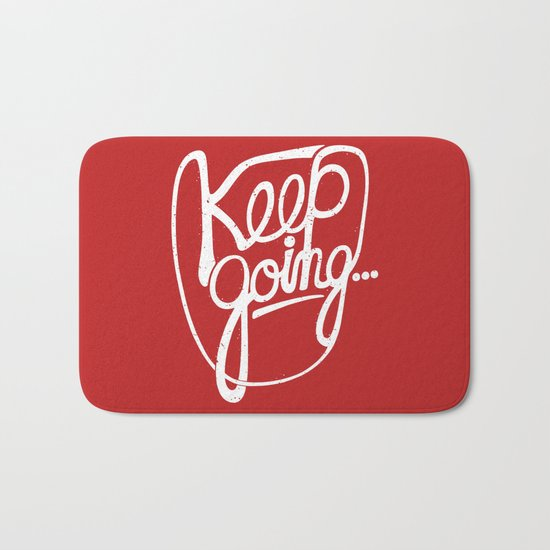 KEEP GO/NG Bath Mat
