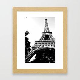 Tour Eiffel Paris  Framed Art Print