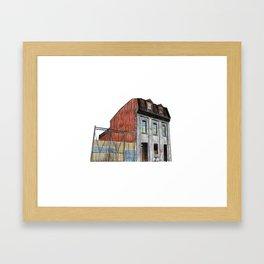 POLICE STATION NO. 3 Framed Art Print