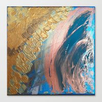 positive Canvas Prints featuring Positive by MPaintingsAbstract