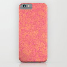 Transient half tone color blocking Slim Case iPhone 6s