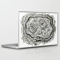 teeth Laptop & iPad Skins featuring Teeth by Travis Poston