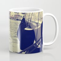 sailing Mugs featuring sailing by gzm_guvenc