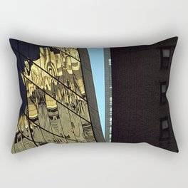 Reflections of New York City Rectangular Pillow