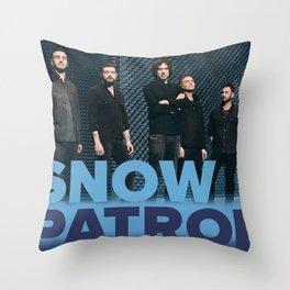 SNOW PATROL WORLD TOUR DATES 2019 KEMILING Throw Pillow