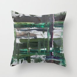 Dreary Day Throw Pillow