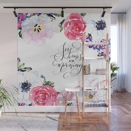 Joy - Psalm 30:5 Wall Mural