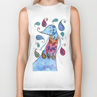 paisley Biker Tanks featuring Paisley by Jessie Lilac