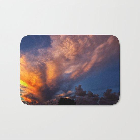 Winged Sunset Bath Mat